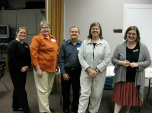 The Biddeford Team (team leader Denise Doherty is second from left)