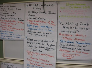 "The fruits of ""structured brainstorming"" in Cumberland/North Yarmouth"