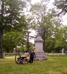 Herb Adams & CW Monument